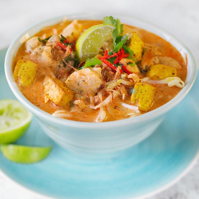 Vegan Laksa Soup